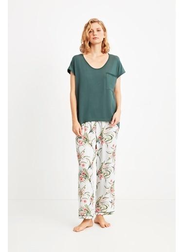 Penye Mood 9004 Pijama Takım Yeşil